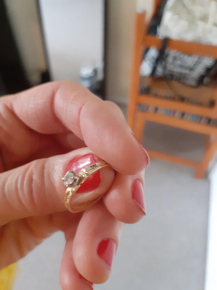 Fingerring, guld, Ukendt