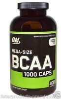 Optimum Nutrition Bcaa 1000 Caps Mega-size 1000 Mg 400 Capsules Amino Acid