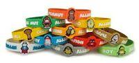 Allermates Children's Allergy Id Wristband/ Medical Alert Bracelet