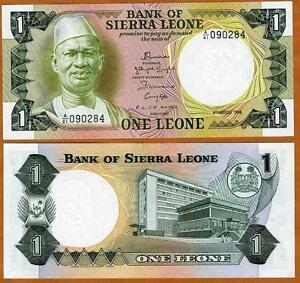 Sierra-Leone-1-Leone-1984-Pick-5-UNC