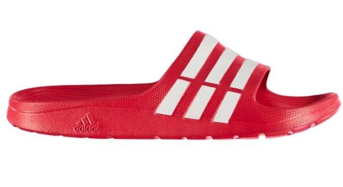 Adidas uomini donne adilette duramo slide slide slide sandalo rosso - bianco, tutte le nuove | Affidabile Reputazione  | Scolaro/Signora Scarpa  e35896
