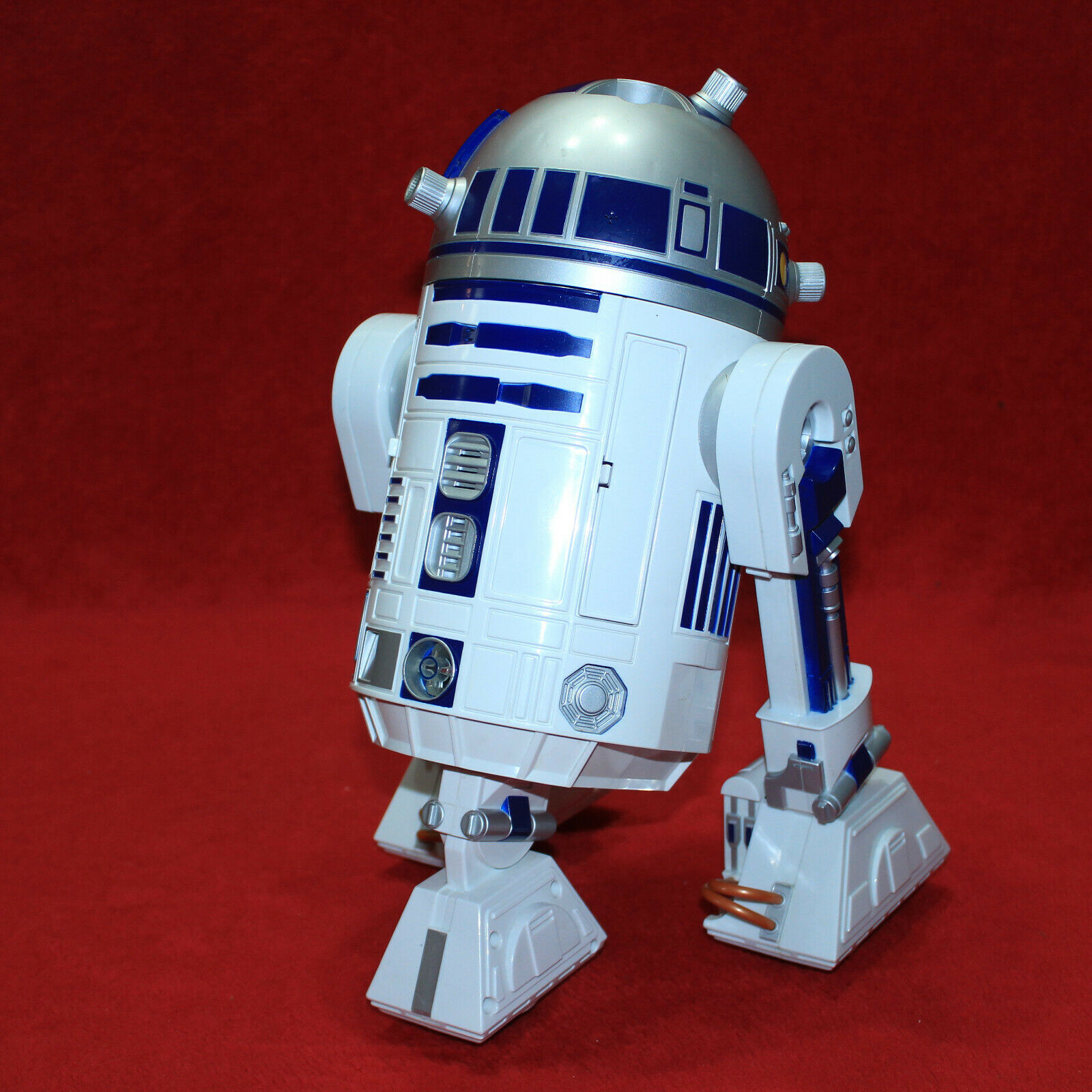 GORGEOUS STAR WARS R2-D2 ASTROMECH DROID Interactive Robot Hasbro WORKS GREAT