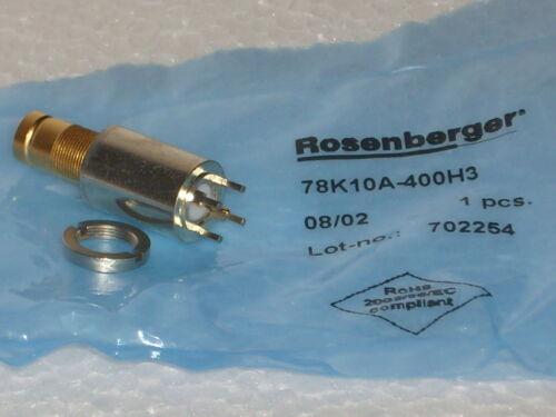 Rosenberger HF-Buchse 78K10A-400H3 1 STÜCK