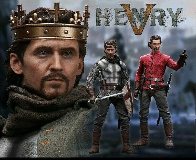 1 6 el rey Enrique V de Inglaterra POPTOYS EX22 Modelo Para Colección Juguete Figura De Acción