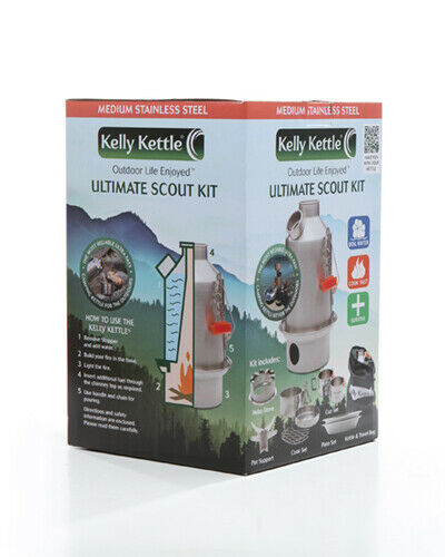 1.1L Kelly Kettle SCOUT /'ULTIMATE KIT/'