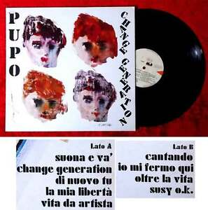 LP-Pupo-Change-Generation-CGD-20455-Italien-1984