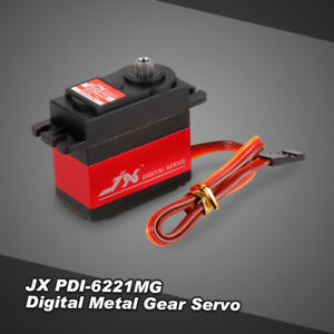 JX-PDI-6221MG-Metal-Gear-4-8V-6V-Digital-Servo-20kg-Torque-for-1-8-1-10-RC-car