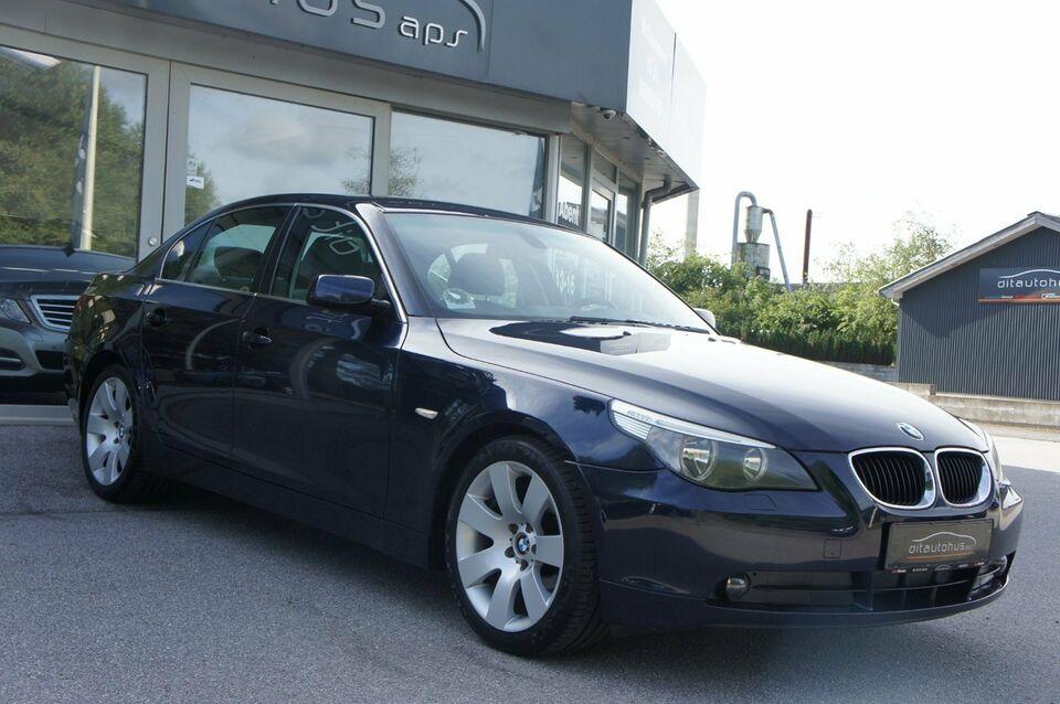 BMW 520i 2,2 Benzin modelår 2004 km 289000 Blåmetal