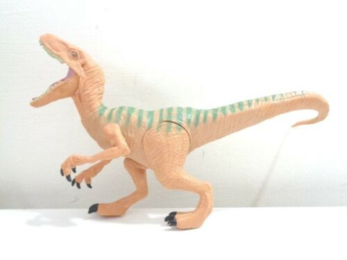 """Jurassic World Velociraptor /""""Eco/"""" dinosaurio figura de juguete"""