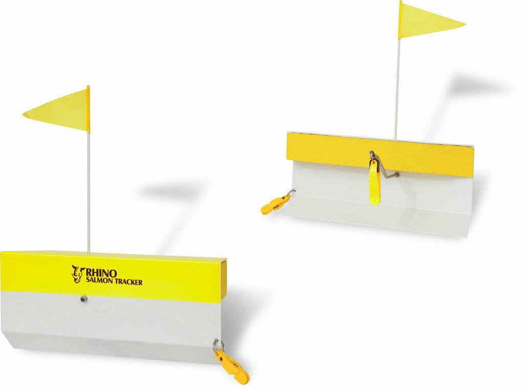 Rhino  salmon tracker-engranar aluminio 2 unidades sideplaner trolling schleppangeln  de moda