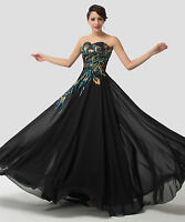 Plus Size 20 22 24 26 ! Mother Of The Bride Formal Evening Maxi Gown Prom Dress