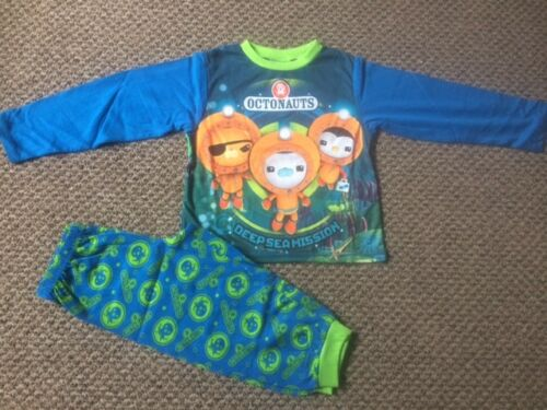 Boys Octonauts Pyjamas Pj/'s Sleepwear Size 18months 4 years New!!!