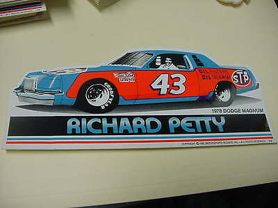 Richard Petty 1978 DODGE  MAGNUM  decal
