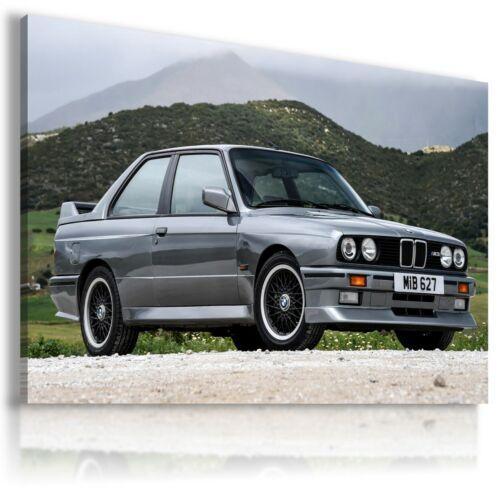 BMW M3 SILVER METALLIC Cars Large Wall Canvas ART AU549 UNFRAMED MATAGA .
