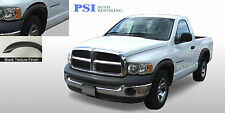 Black Textured Rugged Fender Flares 02 08 Ram 1500 03 09 Dodge Ram 2500 3500 Fits More Than One Vehicle