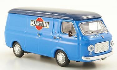 Fiat 238 Van 1970 bluee Martini 1 43 Model rio4327 Rio