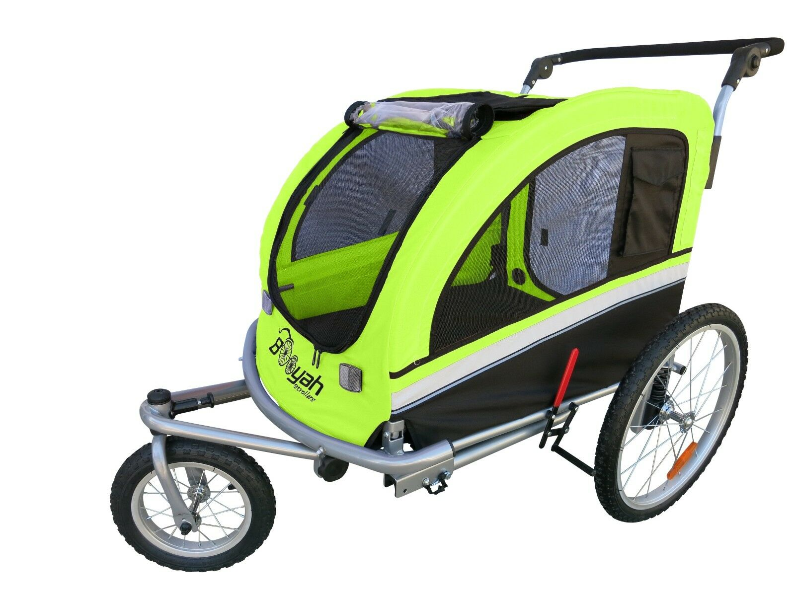 benvenuto a scegliere MB MB MB Booyah Large Pet Dog stroller and Bike Bicycle Trailer with Suspension verde  sconti e altro