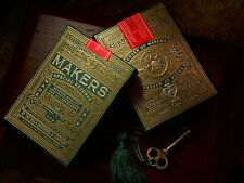 Makers Green & Gold Special Reserve Playing Cards Limited Better Than Monarchs '