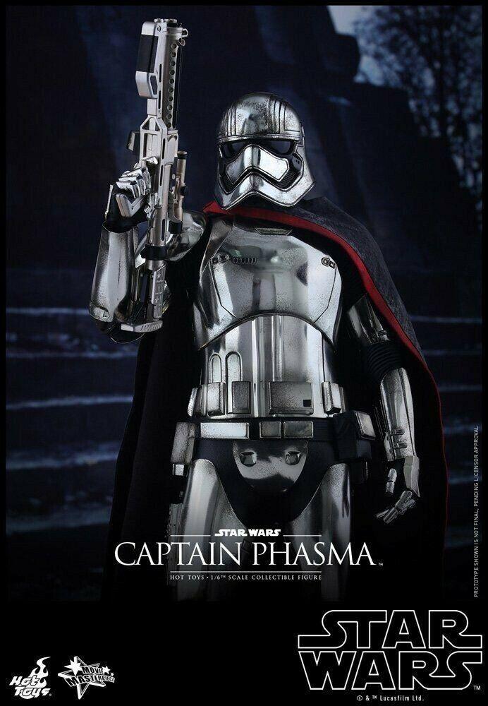 Movie Masterpiece estrella guerras Force Awakens CAPTAIN  PHASMA azione cifra caliente giocattoli  acquisto limitato