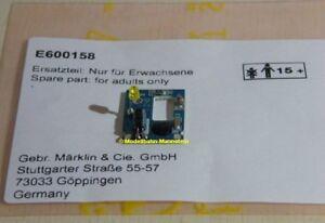 Maerklin-E600158-Leiterplatte-Blinklicht-LED-Gelb-Neu-29853