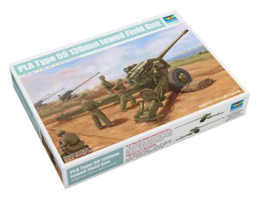 Typ 59 1:35 Modellbausatz Geschütz Trumpeter 9362335 130-mm-Kanone M-46