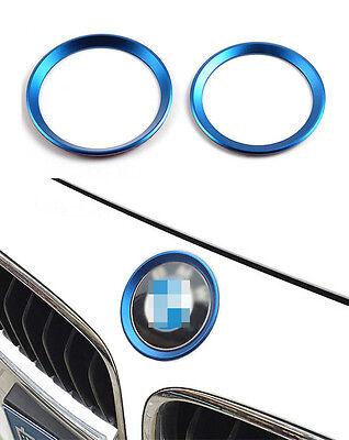 2× Emblem-Logo-Aufkleber dekorativen Kreis für BMW 316i 320i 335i 420i 428i 435i