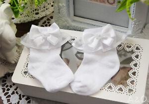 Baby Strickschuhe Erstlingssocken Söckchen Taufe Weiß Schuhe Socken 50 56 62