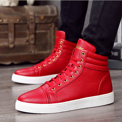 New Fashion Men's Casual High Top Sport Sneakers Athletic Running Shoes