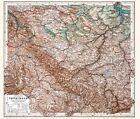 Historische Karte: Handkarte von Thüringen - 1903 von Hermann Habenicht (2010, CD)