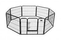 "BestPet Hammigrid 24"" 8 Panel Heavy Duty Pet Playpen Dog Exercise Pen Cat Fence"