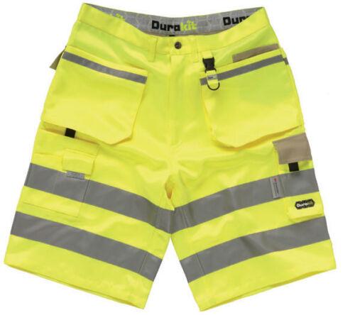 DURAKIT Hi Vis Yellow Shorts BUY 1 GET 1 FREE !!!!