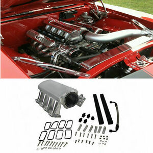 102mm-LS3-L92-INTAKE-MANIFOLD-W-FUEL-RAILS-SHEET-METAL-TIG-WELDED-ALUMINUM-PC
