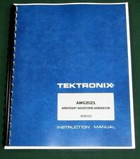 Tektronix Awg2021 Service Manual 11x17 Foldouts Amp Protective Covers