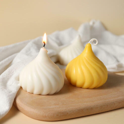3D Silicone Candle Mold Handmade DIY Craft Aromatherapy Plaster Scented Candles