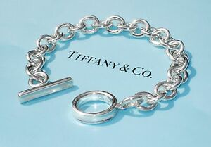 5d62b59e0 Image is loading Tiffany-amp-Co-Sterling-Silver-1837-Chain-Toggle-