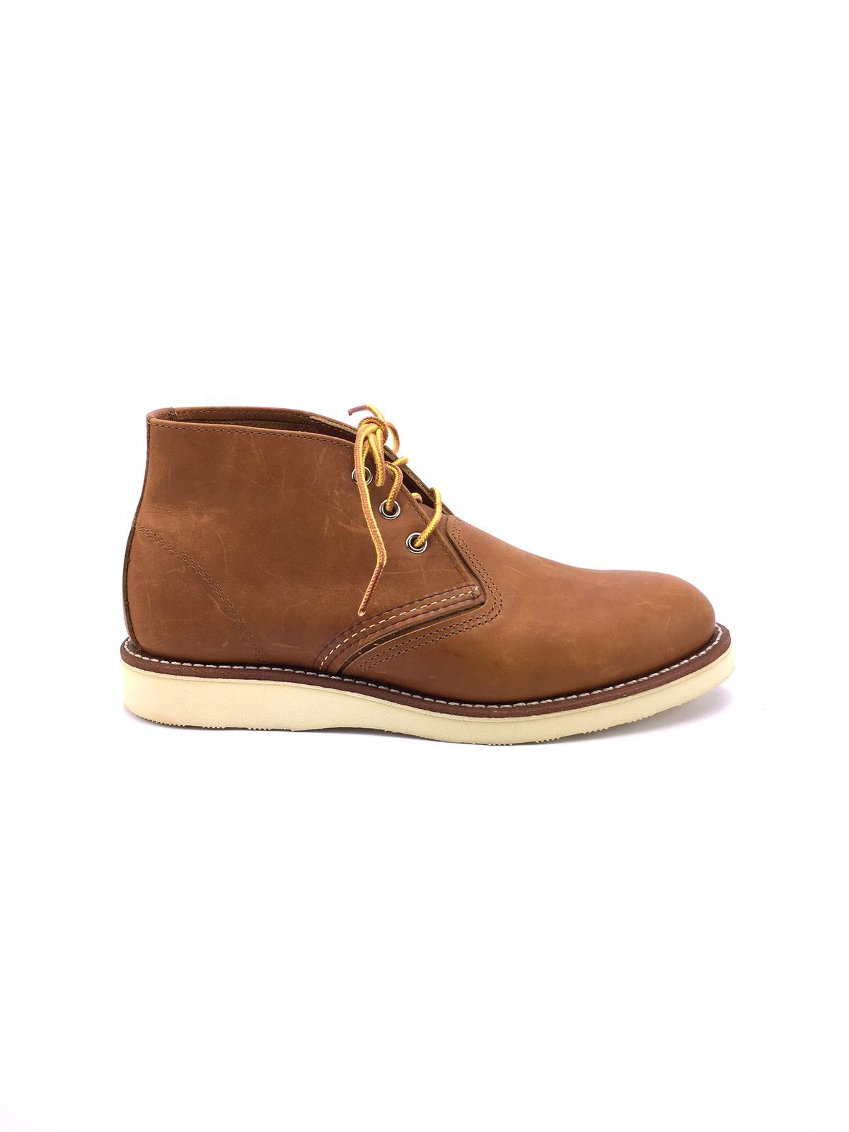 rojowing botín bota Chukka model en mid mid mid marrón Leather 27729d