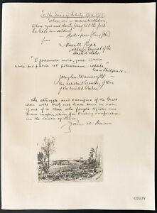 1926-Litografia-James-Cuba-De-Tintura-Wainwright-M-John-W-Davis