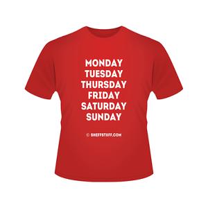 78fb0baa092 Exclusive Blades Week T-Shirt for Sheffield United Blade Fans (S-XXL ...
