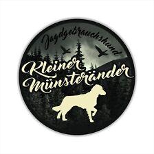 A_JGH Auto Aufkleber KLEINER MÜNSTERLÄNDER Jagdhund Hund Hunde SIVIWONDER