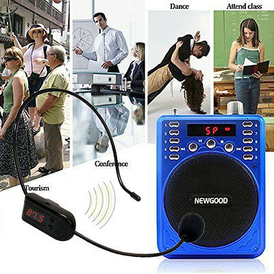 For Teacher Speaker Handsfree Mic Hot Sale FM Microphone Headset Radio Wireless