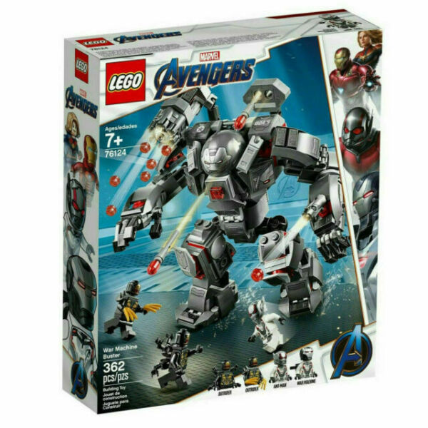 LEGO 76124 Marvel Avengers War Machine Buster 362pcs New In Hand Free Shipping