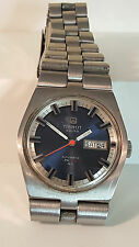 Tissot Swiss Automatic PR 516 GL Mens day/date wristwatch stainless band 2571 mo