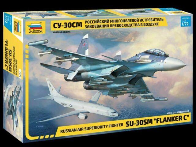 ZVEZDA: Sukhoi SU-30 SM in 1:72