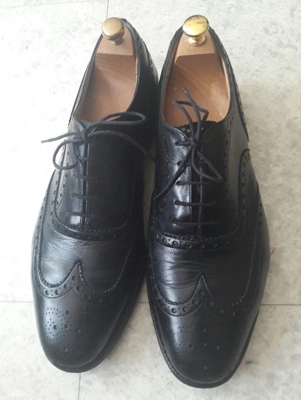 benvenuto a comprare Richelieu en cuir nero (Church's Burwood) 110 F    45  negozio di vendita outlet