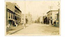 Huntingdon PA - STORE FRONTS ON PENN STREET - RPPC Postcard