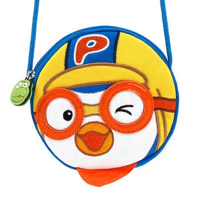 3D Face Pororo Korean Animation Backpack Bag for Toddler Kids Child Cuti Baby