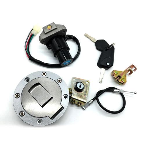 Ignition Switch Fuel Gas Cap Lock Key NBTS For kawasaki Ninja ZX6R ZX7R//7RR ZX9R