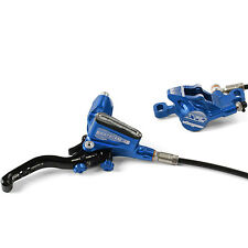 Hope Tech 3 X2 Blue Right / Rear with Black Hose Brake - Brand New