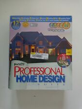 Buy Punch Professional Home Design Suite Platinum V12 Online Ebay