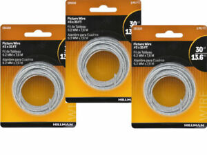 Picture Hanging Wire Easy To Install By The Hillman Group 121110 3